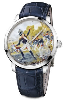 Ulysse Nardin 1812 GENERAL RAEVSKIY Classico Enamel Classico 1812 General Raevskiy Limited Edition watch price