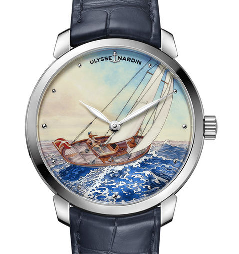 Ulysse Nardin 3203-136LE-2 / MANARA.01 Classico Enamel Manara knock off watches Replica