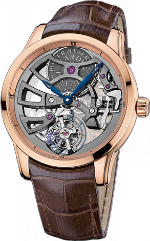 Replica Ulysse Nardin Skeleton Manufacture 1702-129 for sale