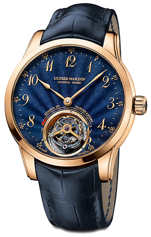 Ulysse Nardin Anchor Tourbillon Blue Enamel 1786-133 / E3 watches for sale