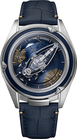 Replica Ulysse Nardin 2505-250LE / CORALBAY.1 Complications Freak Vision watch