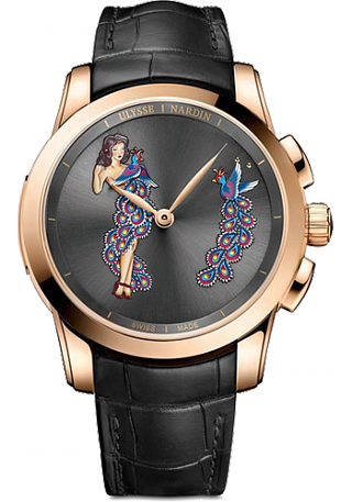Replica Ulysse Nardin 6106-130 / E2-PINUP Complications Hourstriker Pin-up watch