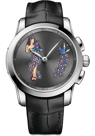 Ulysse Nardin 6109-130 / E2-PINUP Complications Hourstriker Pin-up replica watch