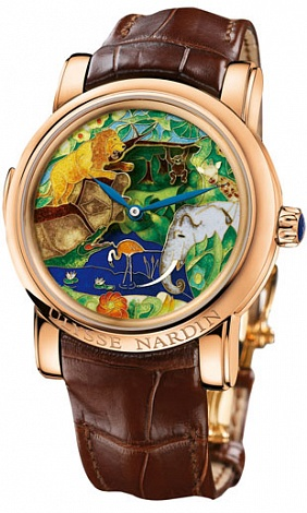 Ulysse Nardin 726-61 Complications Safari Jaquemarts Minute Repeater Replica watch