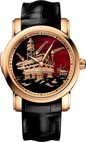 Ulysse Nardin 736-61 / E2-OIL Complications North Sea Minute Repeater replica watch