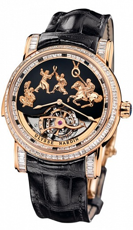 Ulysse Nardin Genghis Khan 786-81 Complications Replica watch