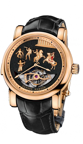 Ulysse Nardin 786-90 Complications Alexander the Great Minute Repeater Tourbillon Replica watch
