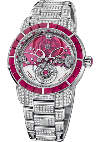 Ulysse Nardin 799-88BAG-8F Complications Exceptional Royal Ruby Tourbillon Replica watch