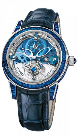 Ulysse Nardin Royal Blue Tourbillon 43 799-98BAG Complications Replica watch