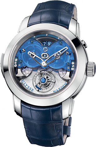 Ulysse Nardin Imperial Blue 9700-125 Complications Replica watch