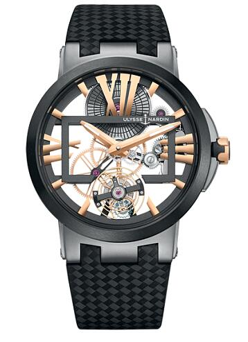 Ulysse Nardin Executive Skeleton Tourbillon 1713-139 / 02-BQ watch for sale