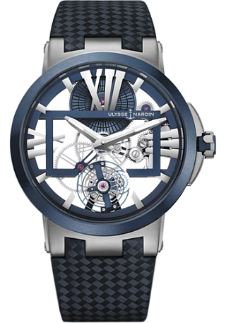 Ulysse Nardin Executive Skeleton Tourbillon 1713-139 / 43 watches review