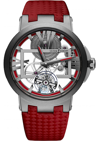Ulysse Nardin Executive Skeleton Tourbillon 1713-139 / BQ watch for sale