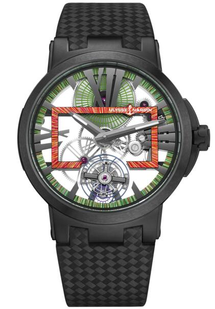 Ulysse Nardin Executive Skeleton Tourbillon Hyperspace 1713-139LE/HYPERSPACE.1 watch reviews
