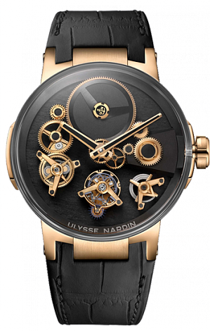 Ulysse Nardin Executive Tourbillon Free Wheel 1760-176 watch for sale