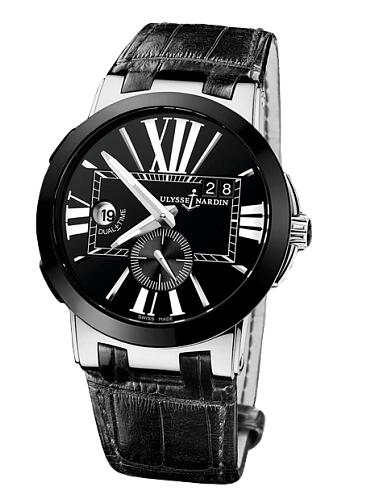 Replica Ulysse Nardin Executive 43mm 243-00 / 42 Alligator strap watches for sale