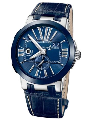 Ulysse Nardin Dual Time 243-00 / 43 Replica watches for sale