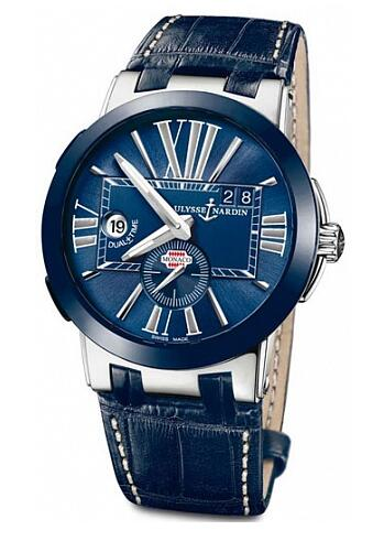 Best Ulysse Nardin Dual time GMT 243-00LE watches sale