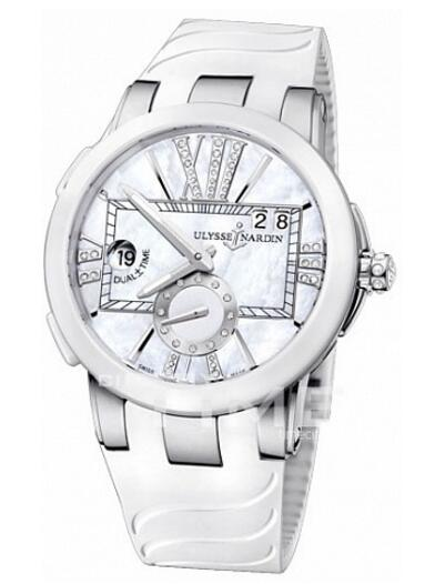 Ulysse Nardin Executive Dual Time Lady 243-10-3 / 391 watches review