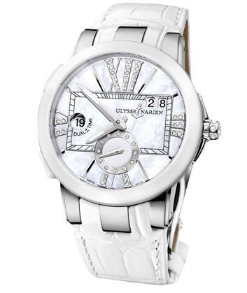 Ulysse Nardin Dual Time Lady 243-10 / 391 watches reviews