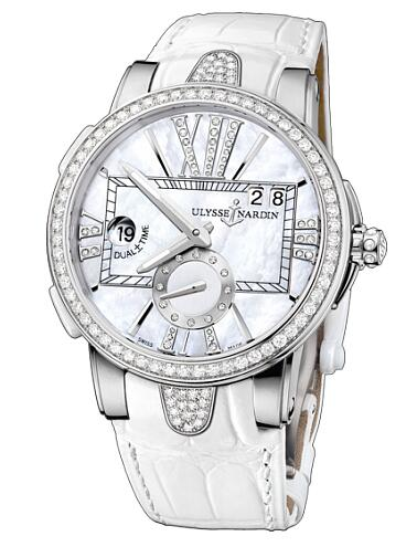 Ulysse Nardin Executive Dual Time Lady 243-10B / 391 watch copy