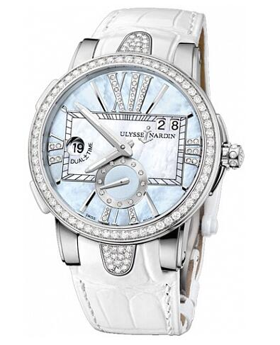 Ulysse Nardin Dual Time Lady 243-10B / 393 watch copy