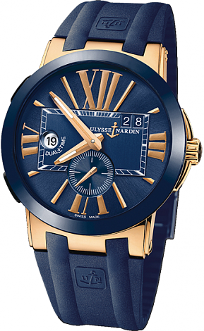 Ulysse Nardin Executive Dual Time 43 mm 246-00-3 / 43 watch review