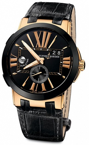 Ulysse Nardin Dual Time 246-00 / 42 watch review