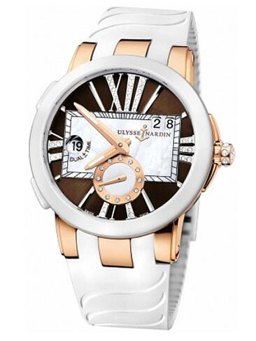 Fake Ulysse Nardin Executive Dual Time 246-10-3 / 30-05 women's watches