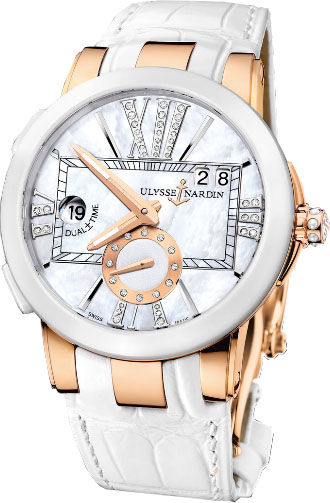 Ulysse Nardin Executive Dual Time 246-10 / 391 watch copy