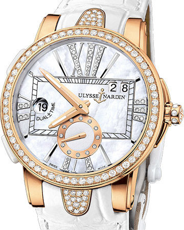 Ulysse Nardin Dual Time Lady 246-10B-391 watches review