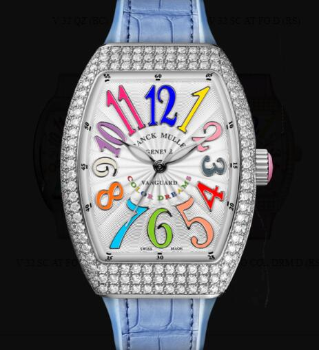 Franck Muller Vanguard Lady Classic Replica Watch Cheap Price V 32 SC AT FO COL DRM D (RS) OG