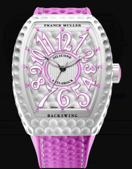 Franck Muller Vanguard Lady Golf Replica Watch Cheap Price V 32 SC AT GOLF BC (RS)