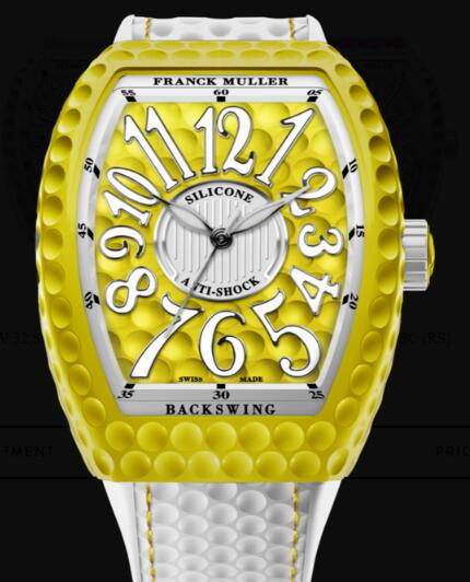 Franck Muller Vanguard Lady Golf Replica Watch Cheap Price V 32 SC AT GOLF JN (JN)