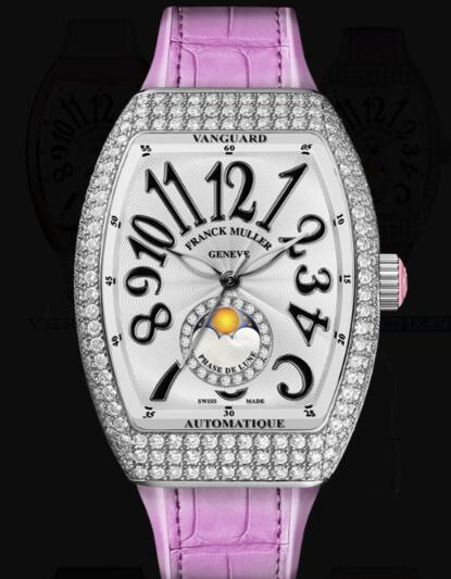 Franck Muller Vanguard Lady Moonphase Replica Watch Cheap Price V 32 SC FO L D CD 1R RN (RS)