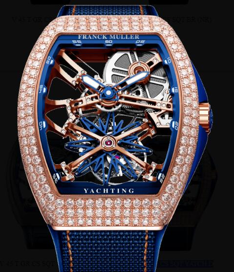 Franck Muller Gravity Yachting Skeleton Watches for sale Cheap Price V 45 T GR CS SQT YATCH D 5N