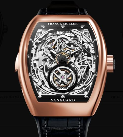 Cheap Franck Muller Tourbillon Minute Repeater Skeleton Watches for sale V 50 L RM T SQT (NR) 3N