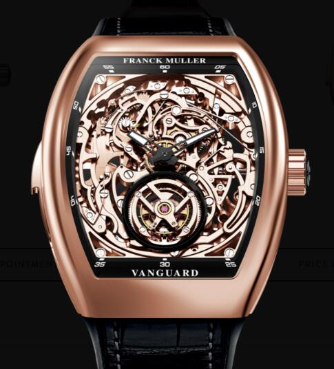 Cheap Franck Muller Tourbillon Minute Repeater Skeleton Watches for sale V 50 L RM T SQT (NR) 5N