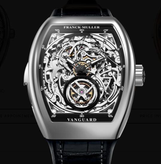 Cheap Franck Muller Tourbillon Minute Repeater Skeleton Watches for sale V 50 L RM T SQT (NR) OG