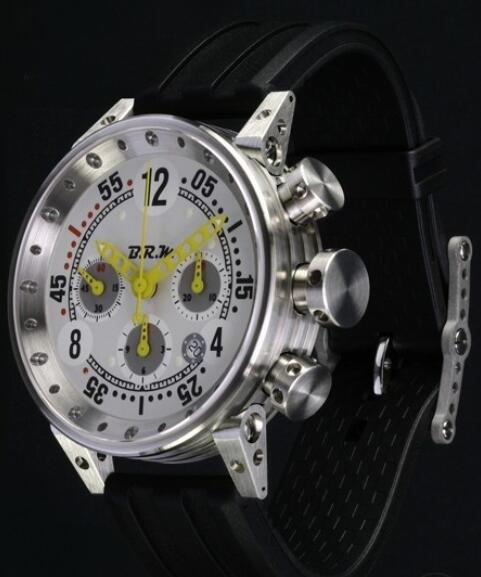 Replica B.R.M Watch V12-44-BG-AJ V12-44-BG-AJ Brushed Stainless Steel