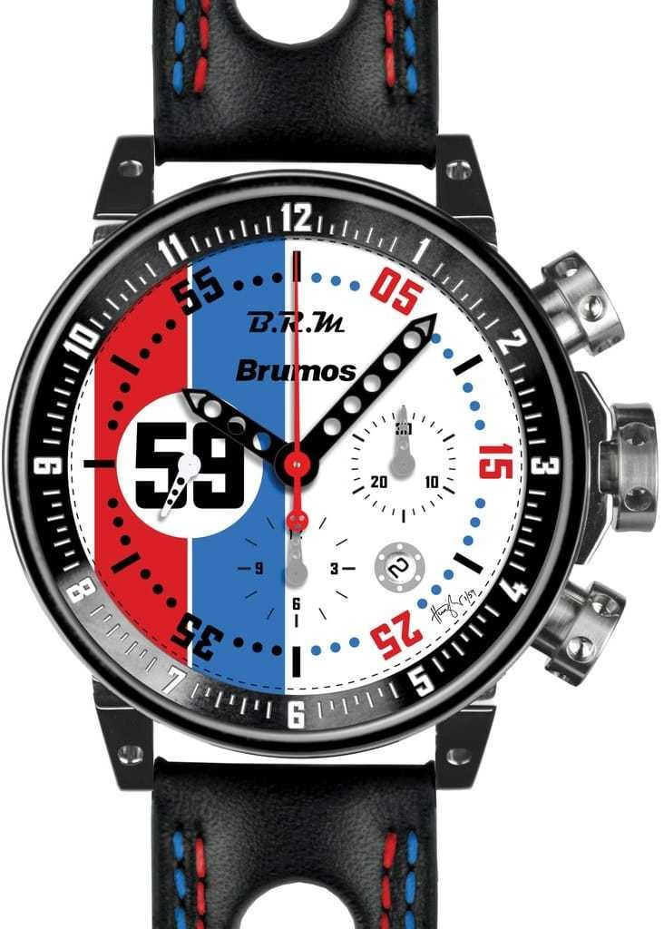 BRM V-12 watches for sale BRM Brumos Racing Chronograph V12-44-BRUMOS