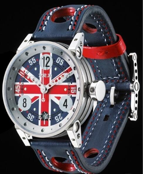 B.R.M Watches Replica Watch B.R.M V6-44 England V6-44 V6-44-CDUK Polished Stainless Steel