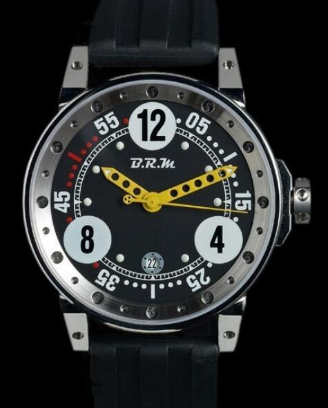 Replica B.R.M V6-44 Watch V6-44-GT-N V6-44-GTN-AJ Polished Stainless Steel