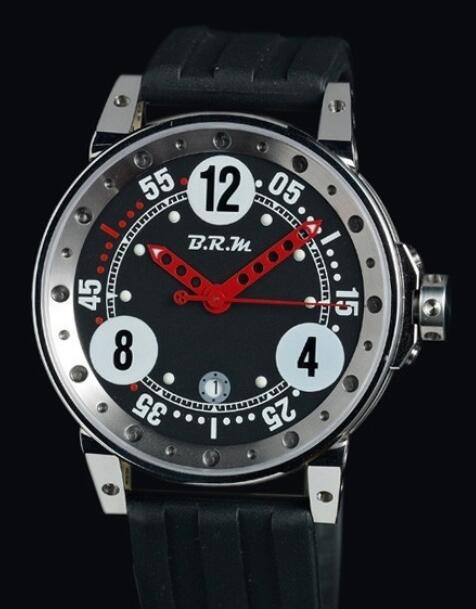 Replica B.R.M V6-44 Watch V6-44-GT-N V6-44-GTN-AR Polished Stainless Steel