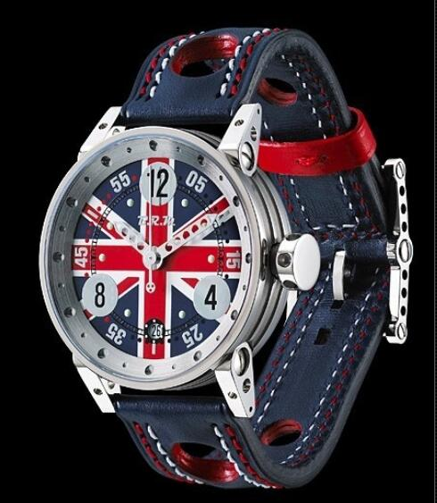B.R.M Watches Replica Watch B.R.M V7-38 England V7-38 V7-38-CDUK Polished Stainless Steel