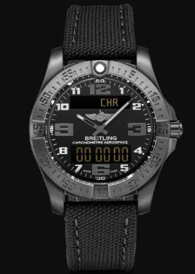 Replica Breitling Aerospace EVO DLC-Coated Titanium - Black V79363101B1W1 Watch