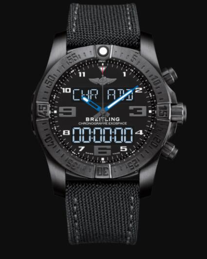 Replica Breitling Exospace B55 DLC-Coated Titanium - Black Watch VB5510H2/BE45/100W/M20BASA.1