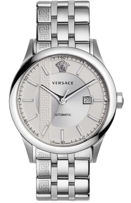 Versace V18040017 Automatic Aiakos Stainless Steel 44 mm Replica watch