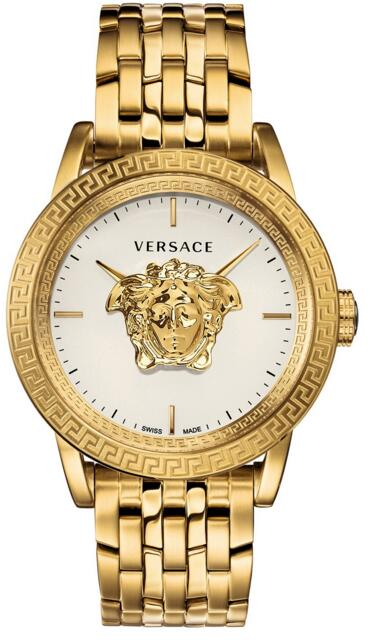 Versace VERD00318 Palazzo Empire Gold-Tone Stainless Steel 43 mm Replica watch