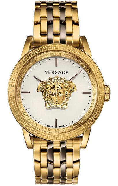 Versace VERD00418 Swiss Palazzo Empire Two-Tone Stainless Steel 43 mm Replica watch